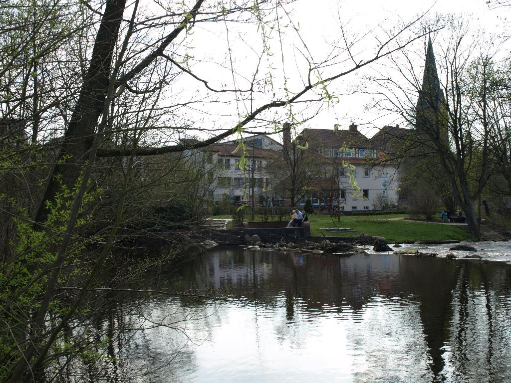 Die Böhme am  Kurpark  in Bad Fallingbostel