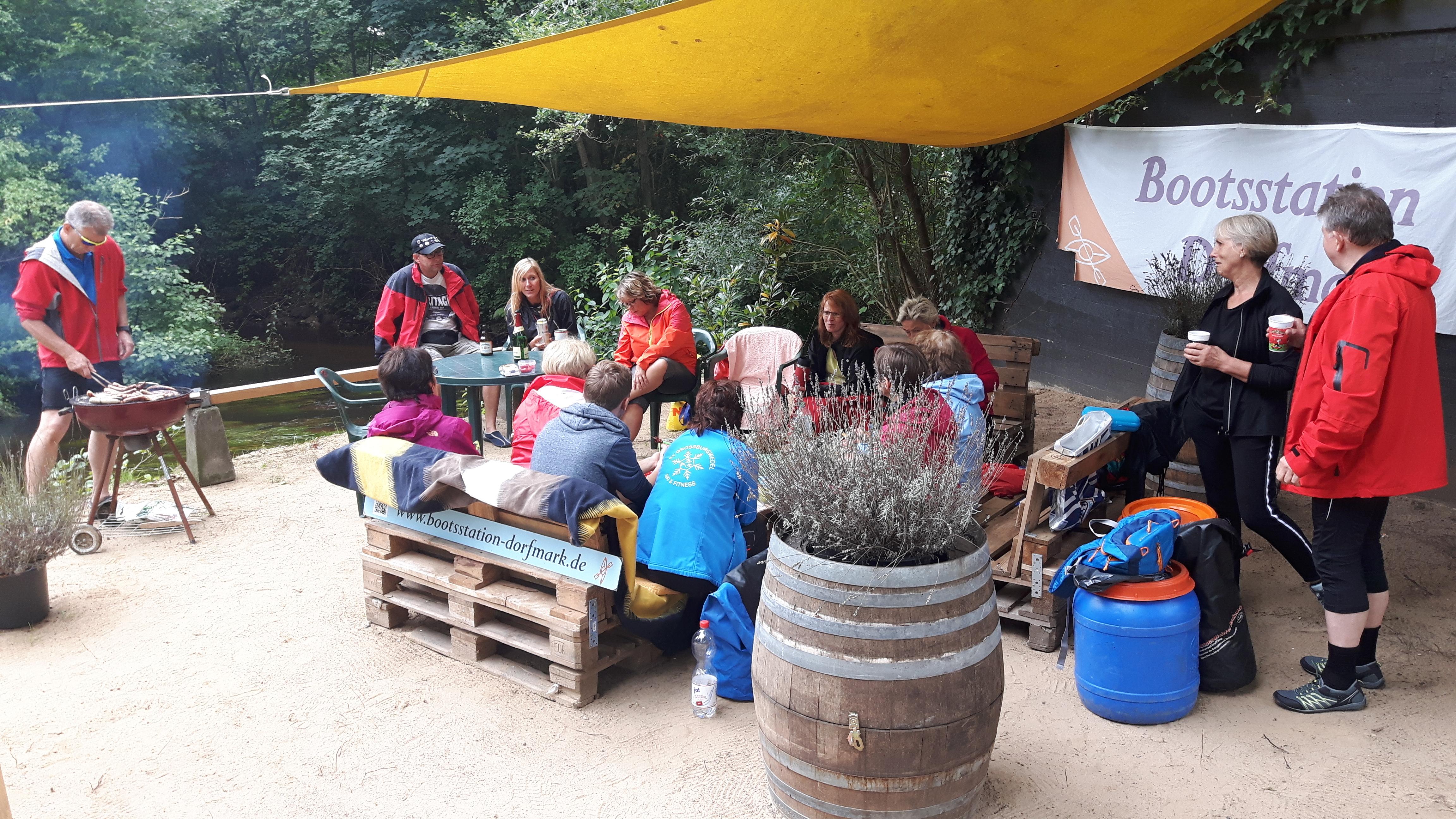 Bootsstation-Dorfmark Lounge
