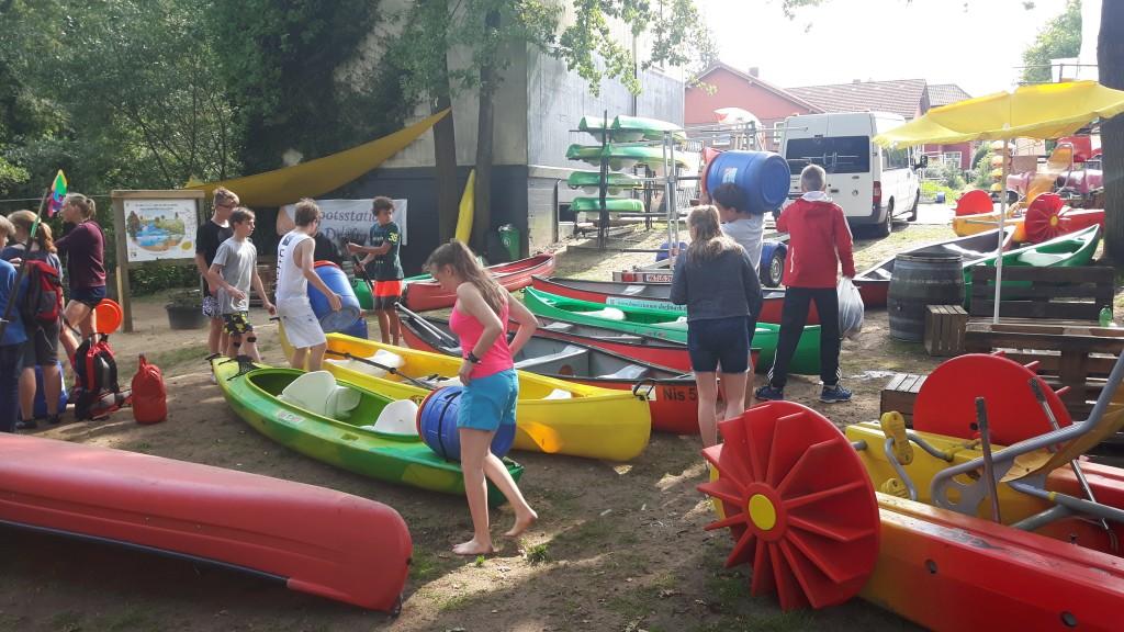 Bootsstation Dorfmark Tourvorbereitung