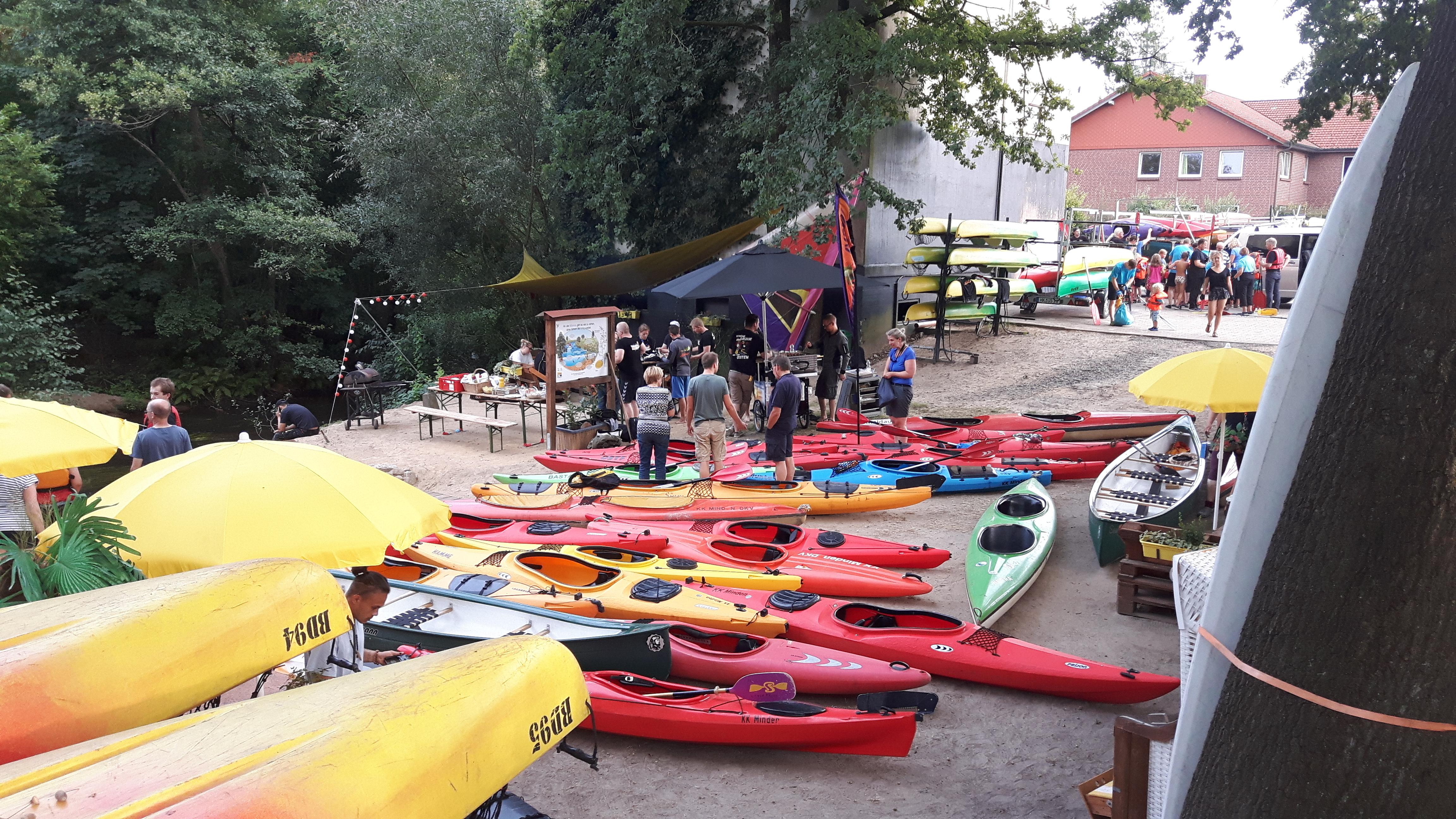 Bootsstation Dorfmark - Bootsplatz Bommühle