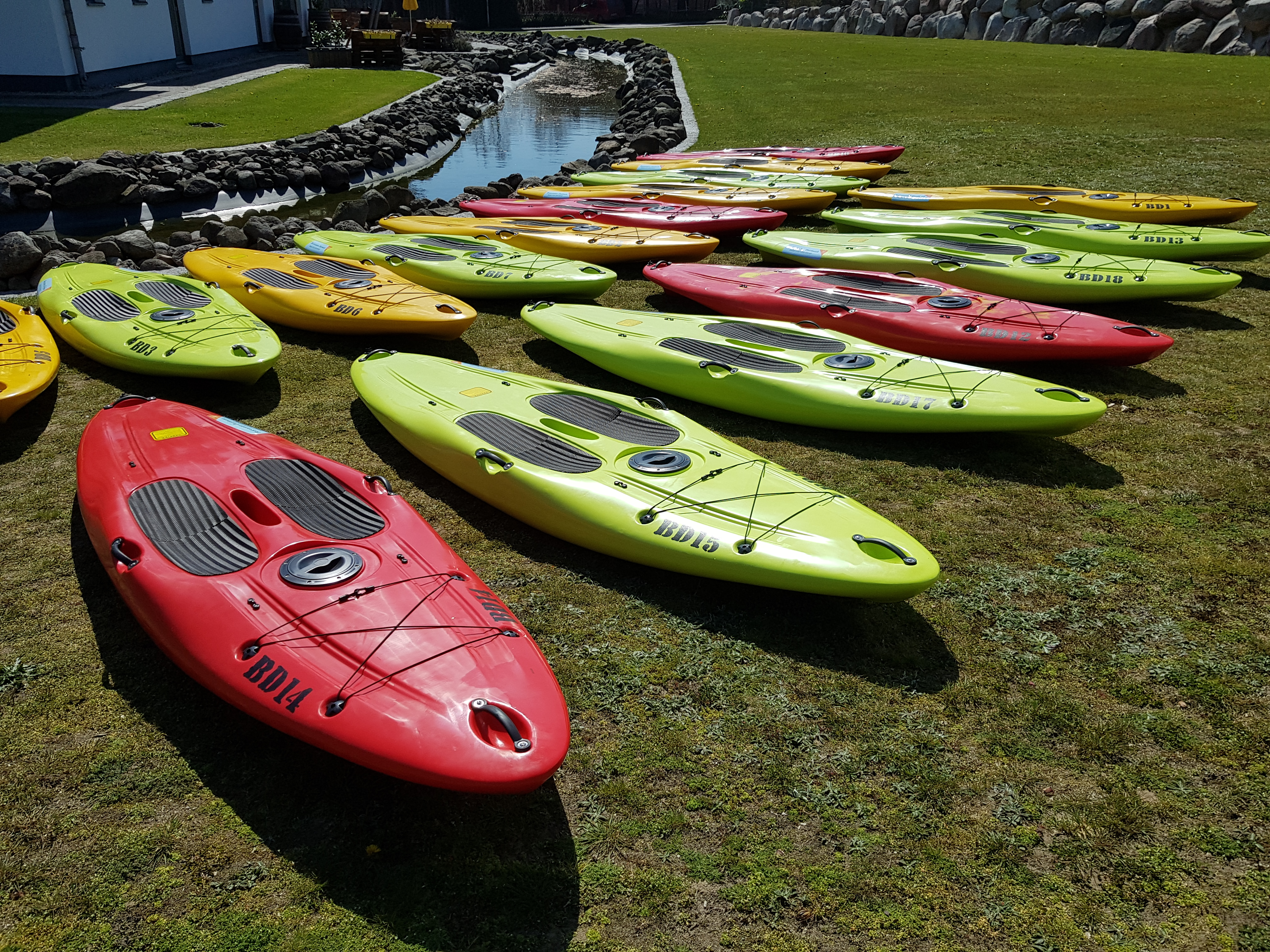 Stand Up Paddling boards